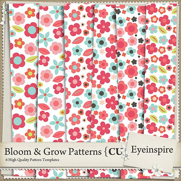 Bloom & Grow Patterns