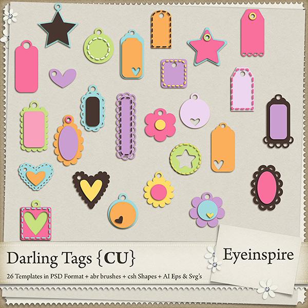 Darling Tags