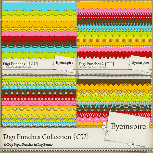 Digi Punches Collection