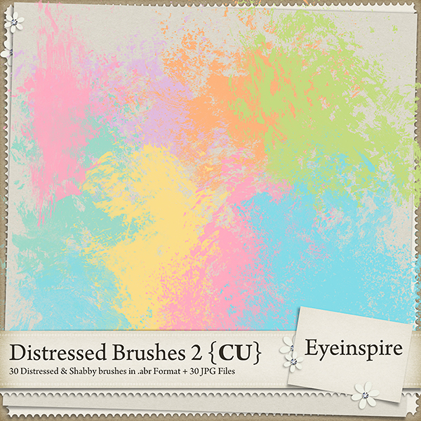 Distressed Brushes 2