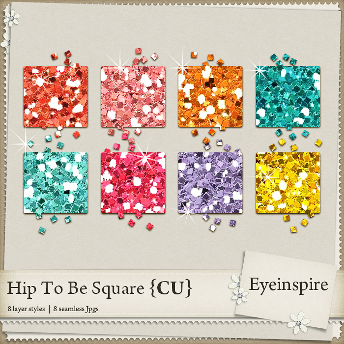 Hip To Be Square Glitters