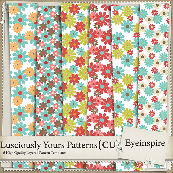 Lusciously Yours Patterns