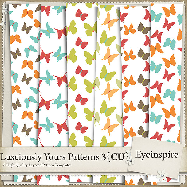 Lusciously Yours Patterns 3