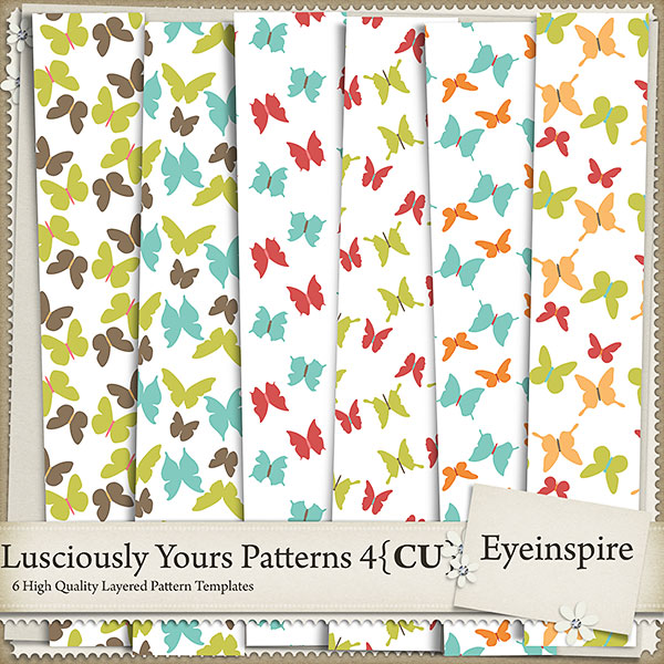 Lusciously Yours Patterns 4