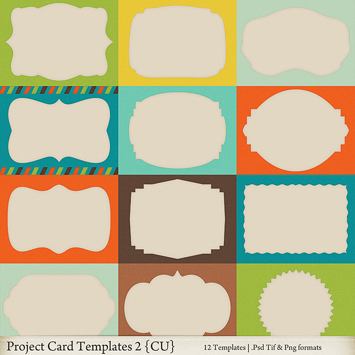 Project Card Templates 2