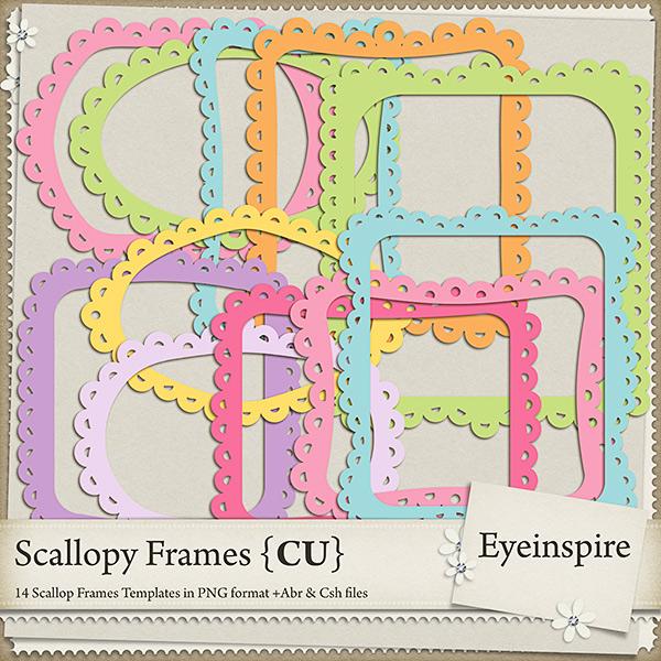 Scallopy Frames