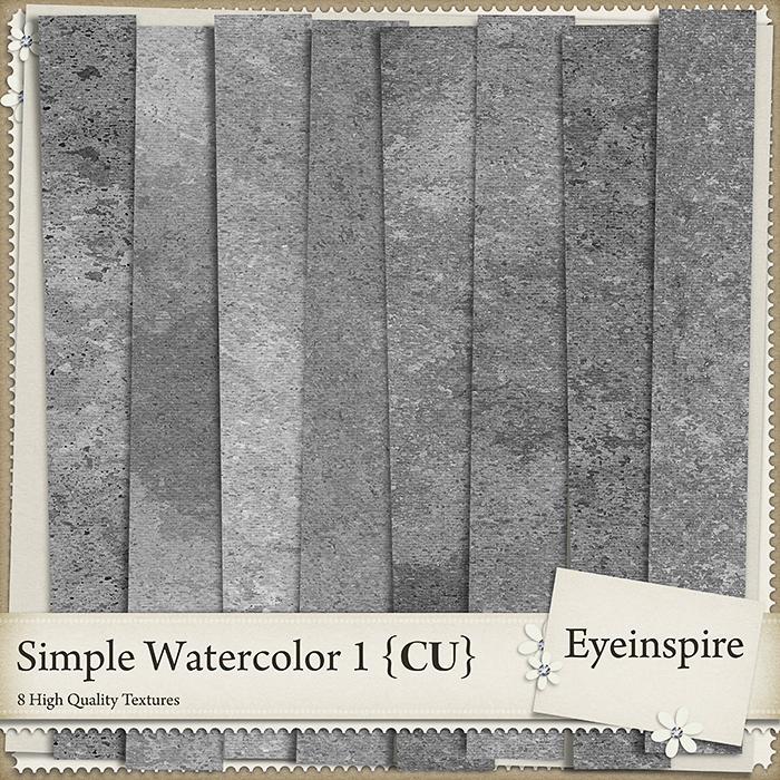 Simple Watercolor Textures