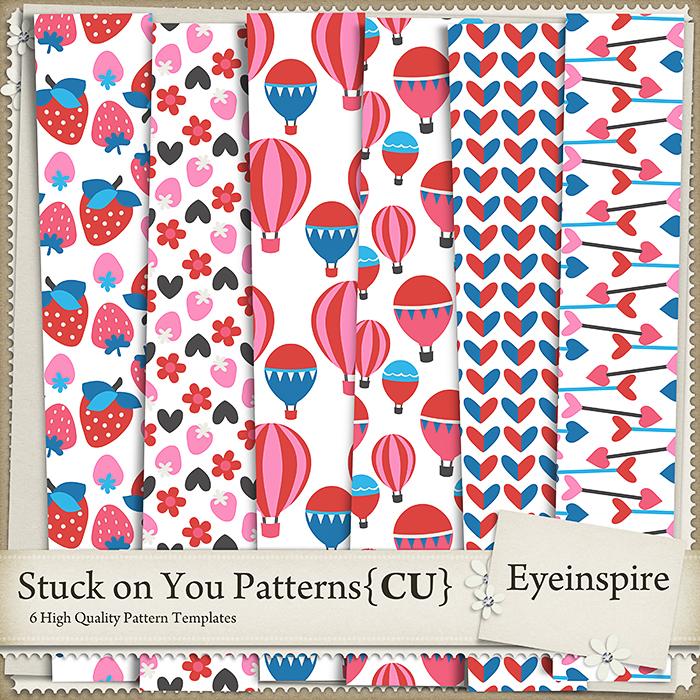Stuck on You Patterns 1