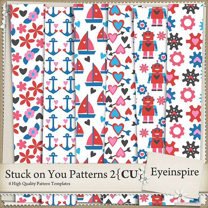 Stuck on You Patterns 2