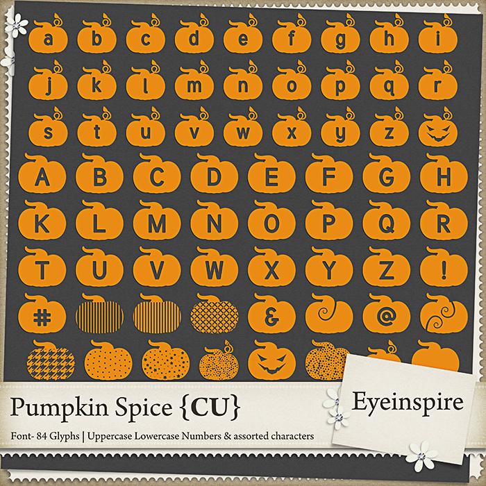Pumpkin Spice Font
