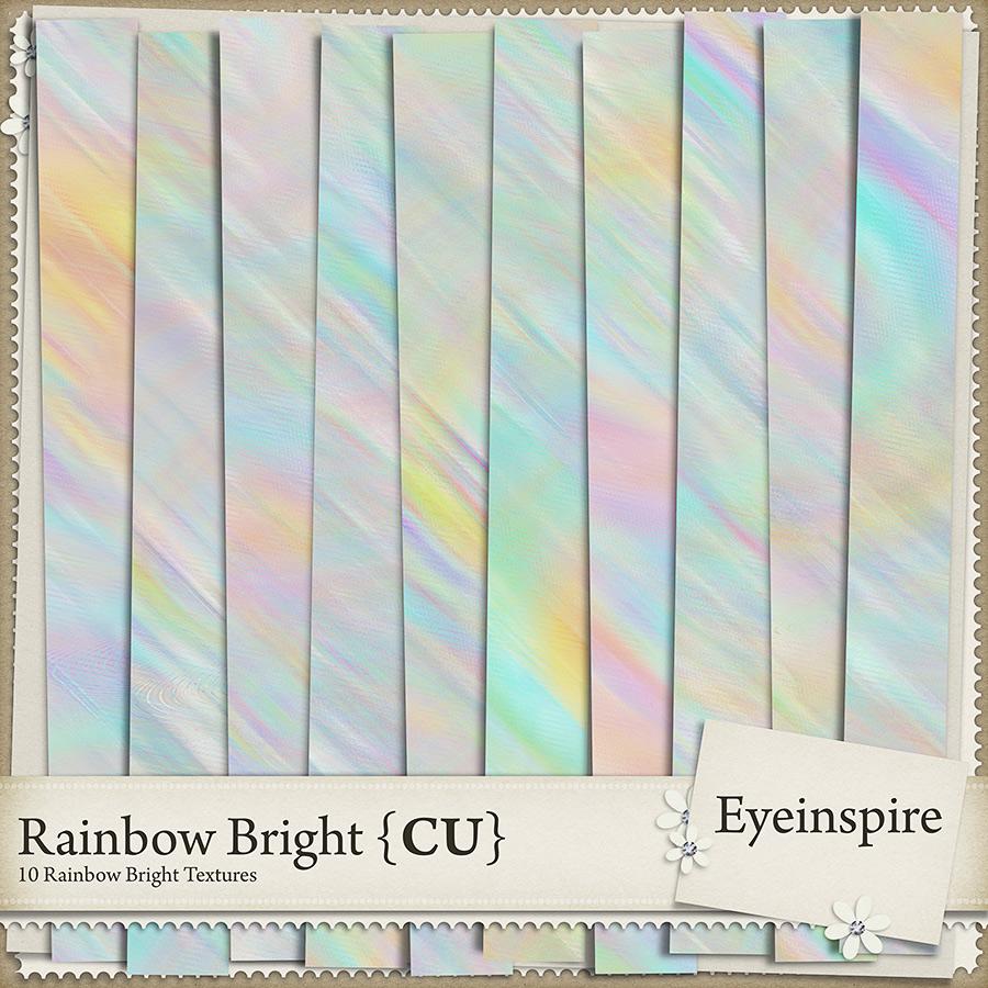 Rainbow Bright Textures
