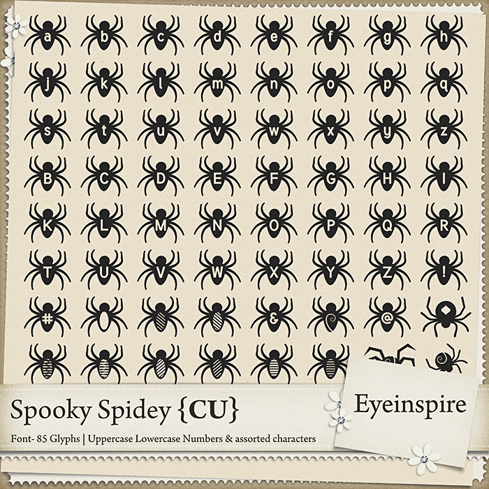 Spooky Spidey Font