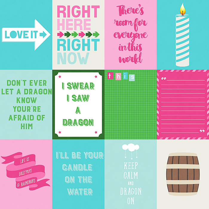 Sweetest Dragon Cards