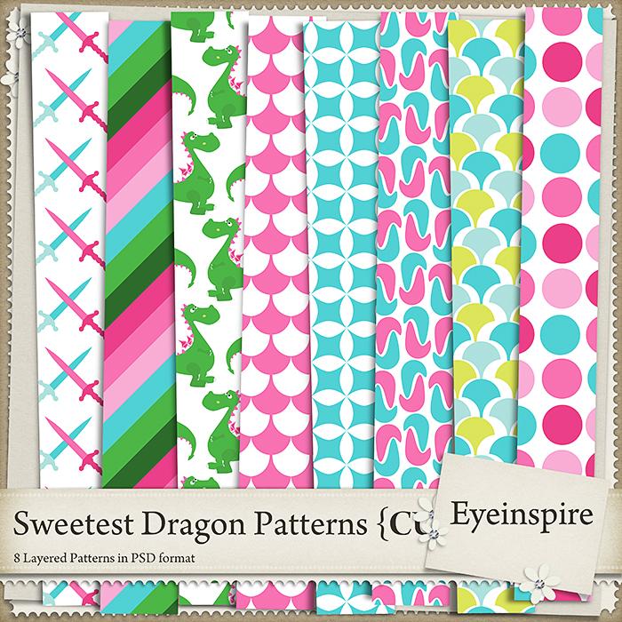 Sweetest Dragon Patterns