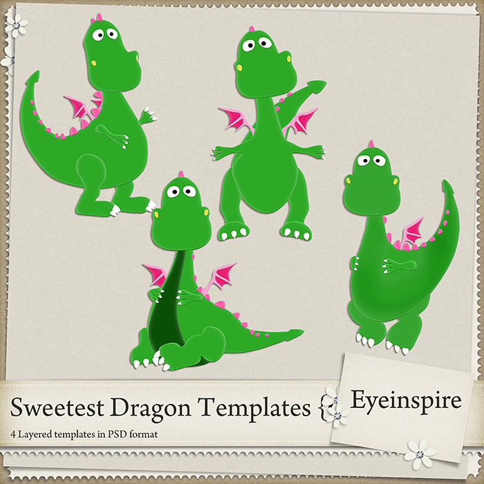 Sweetest Dragon Templates