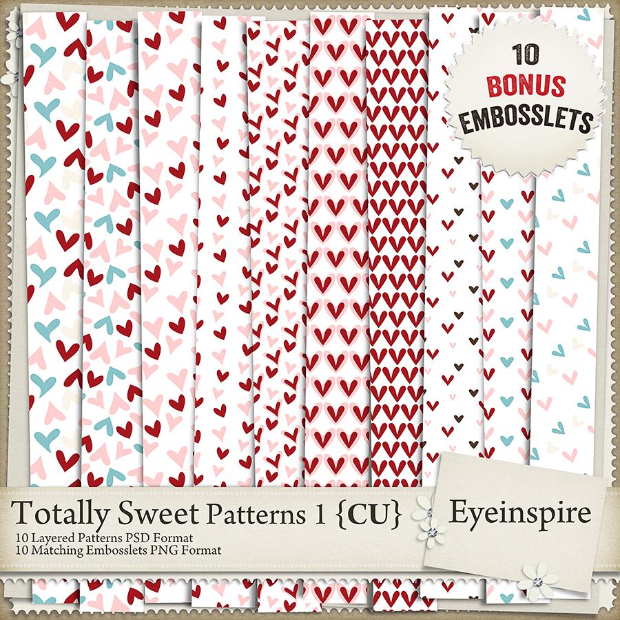 Totally Sweet Embossing Kit 1
