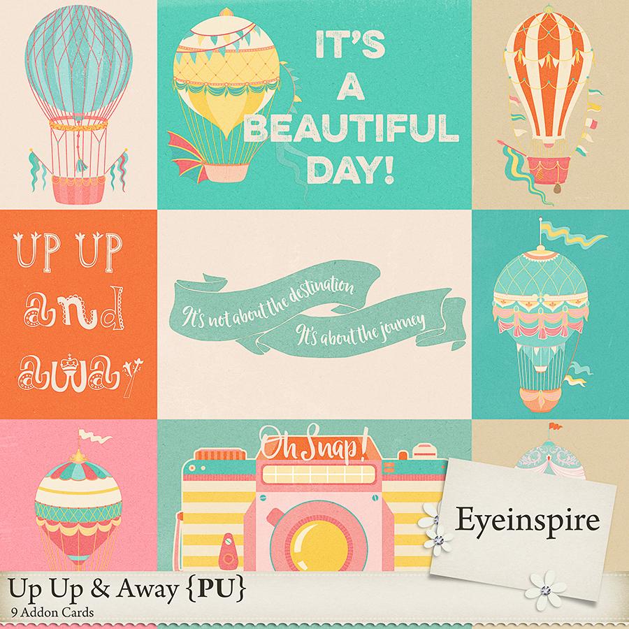Up Up & Away Cards