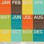 Project Calendar Cards