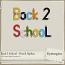 Back 2 School - Pencil Alphas