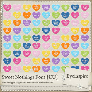 Sweet Nothings Font