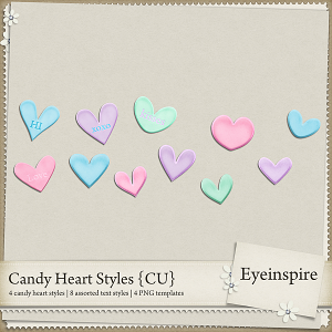 Candy Heart Styles