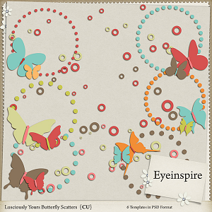 Lusciously Yours Butterfly Scatters