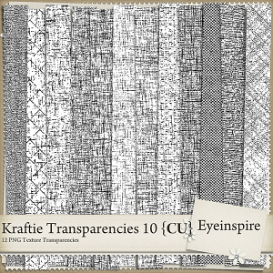 Kraftie Transparencies 10