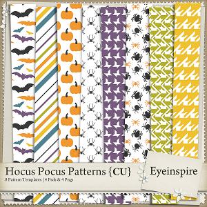Hocus Pocus Patterns