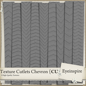 Chevron Texture Cutlets