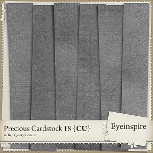 Precious Cardstock 18