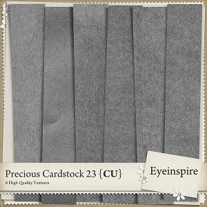 Precious Cardstock 23