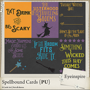 Spellbound Cards