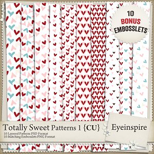 Totally Sweet Embossing Kit 1