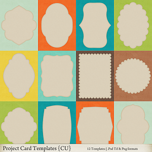 Project Card Templates