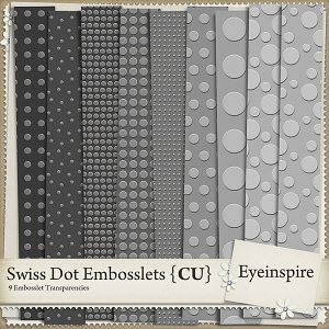 Swiss Dot Embosslets