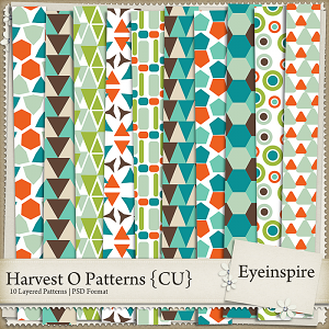 Harvest O Patterns