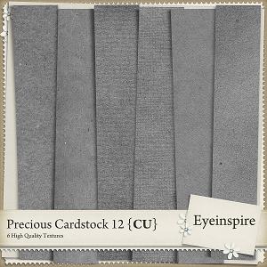 Precious Cardstock 12