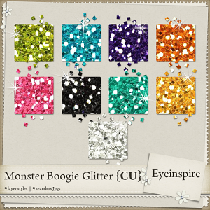 Monster Boogie Glitters