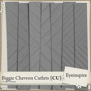 Biggie Chevron Texture Cutlets