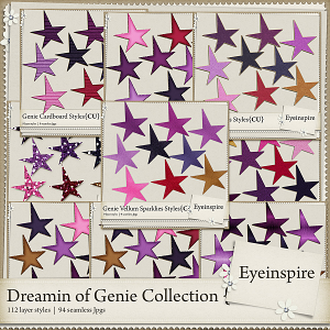 Dreamin Genie Styles Collection