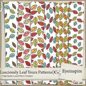 Lusciously Yours Leaf Patterns