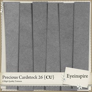 Precious Cardstock 26