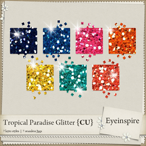Tropical Paradise Glitters