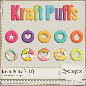 Kraft Puffs Layer Styles