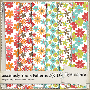 Lusciously Yours Patterns 2