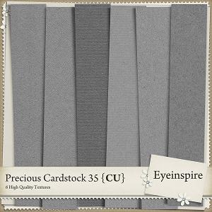 Precious Cardstock 35