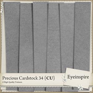 Precious Cardstock 34