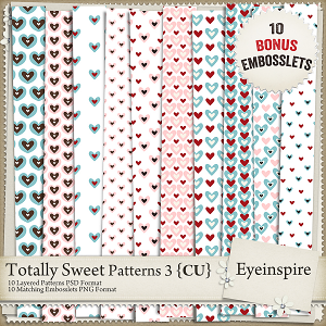 Totally Sweet Embossing Kit 3