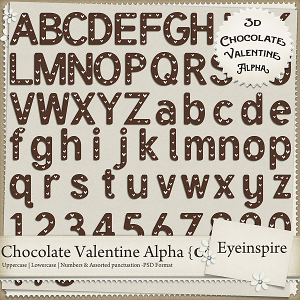 Chocolate Valentine Alpha