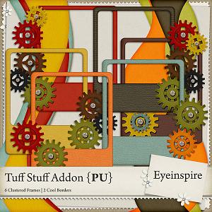 Tuff Stuff Cluster Frames